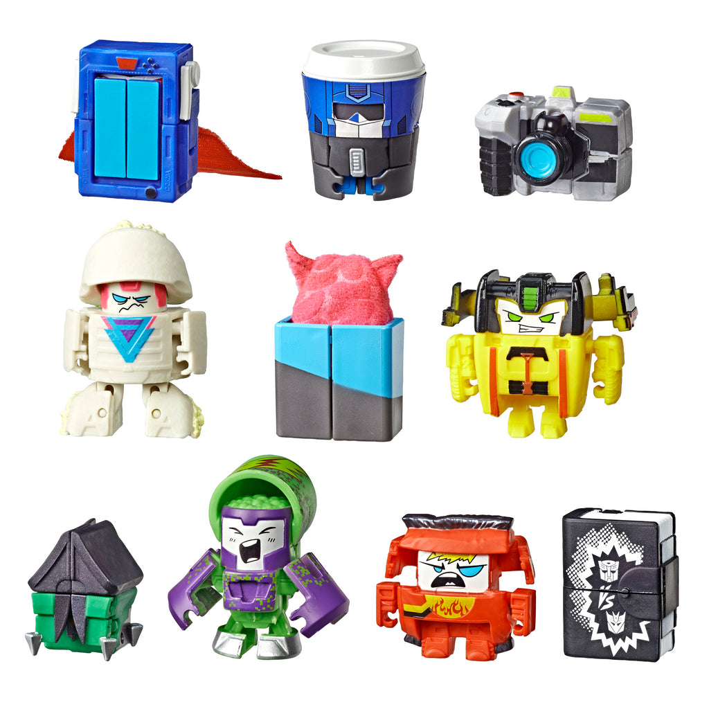 Transformers BotBots Con Crew 10-Pack