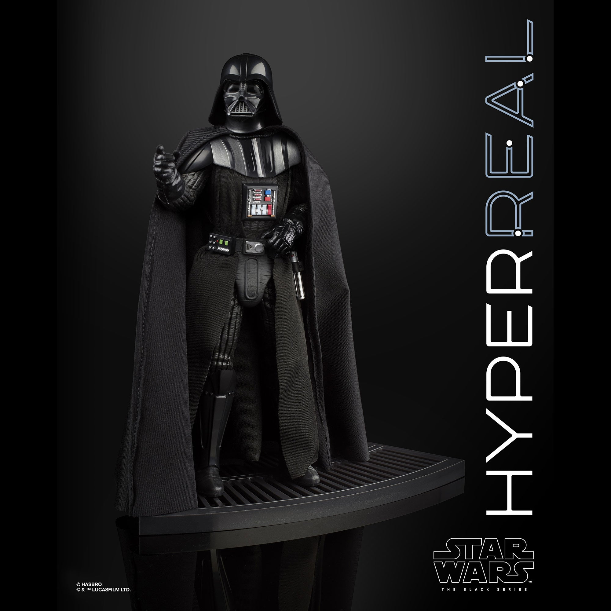 b42abeab606895 Star Wars The Black Series Hyperreal Darth Vader Figure – Hasbro Pulse