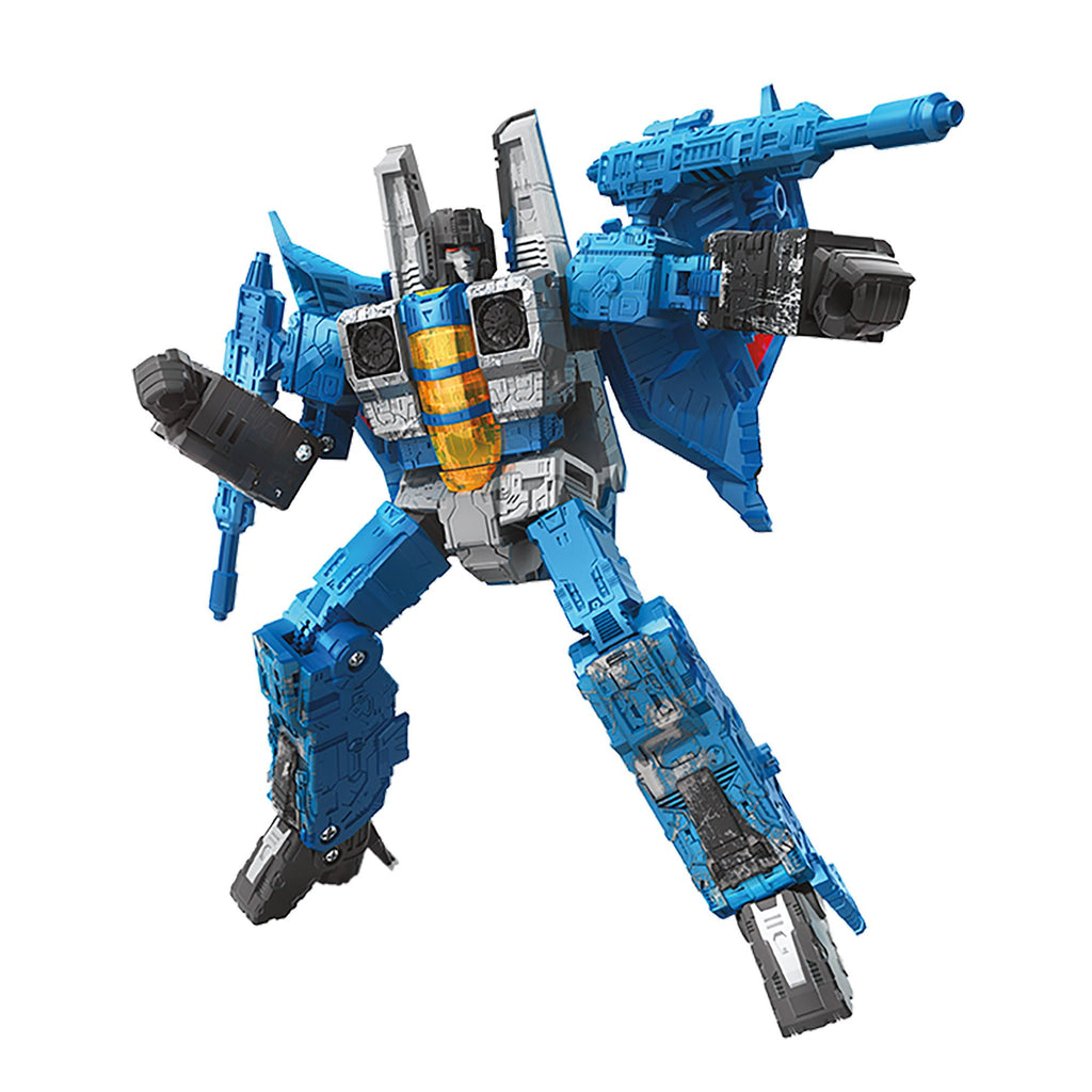 Transformers Generations War for Cybertron Voyager WFC-S39 Thundercracker Figure Bot Mode