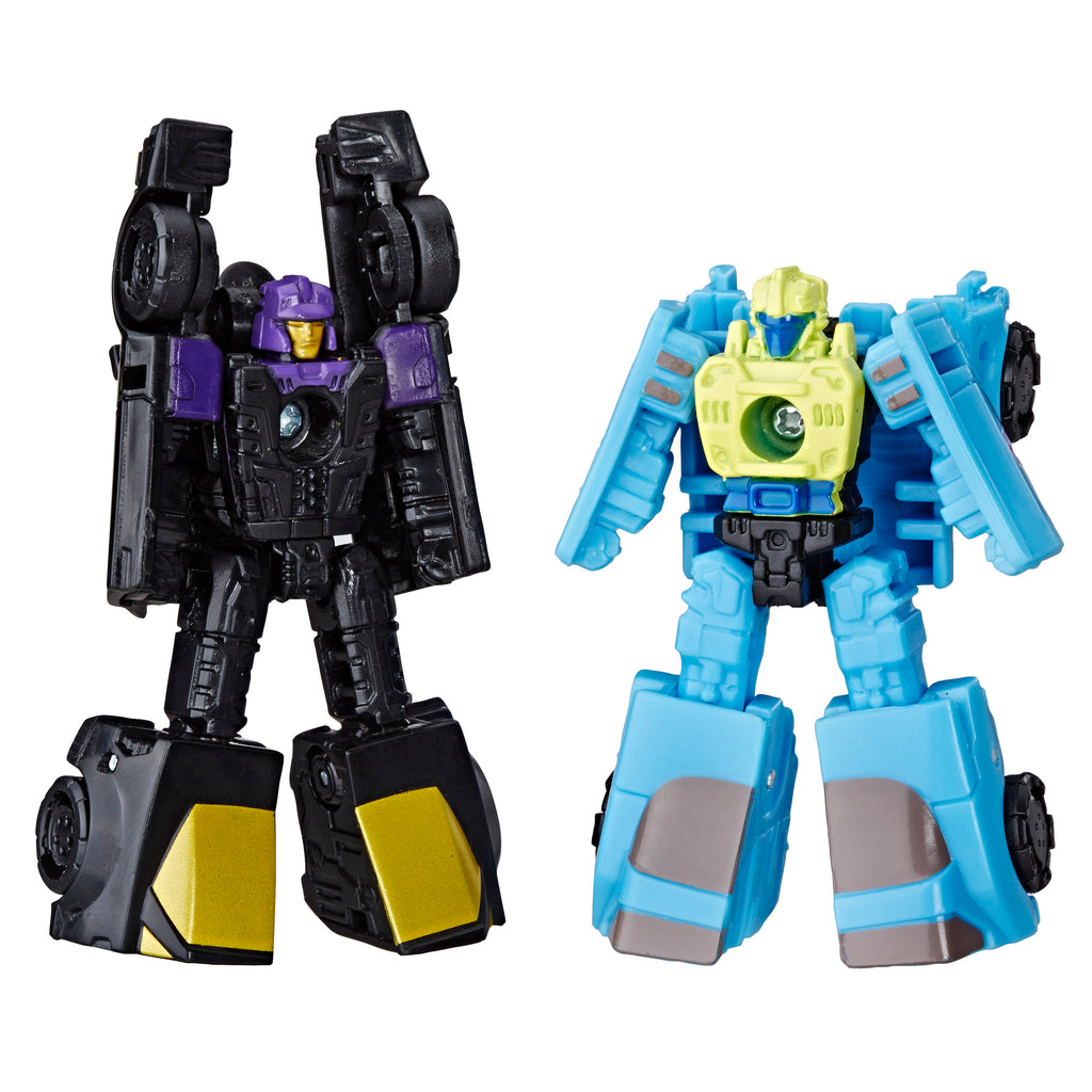 Transformers Generations War for Cybertron: Siege Micromaster WFC-S32 Decepticon 2-pack Figures Robot Mode