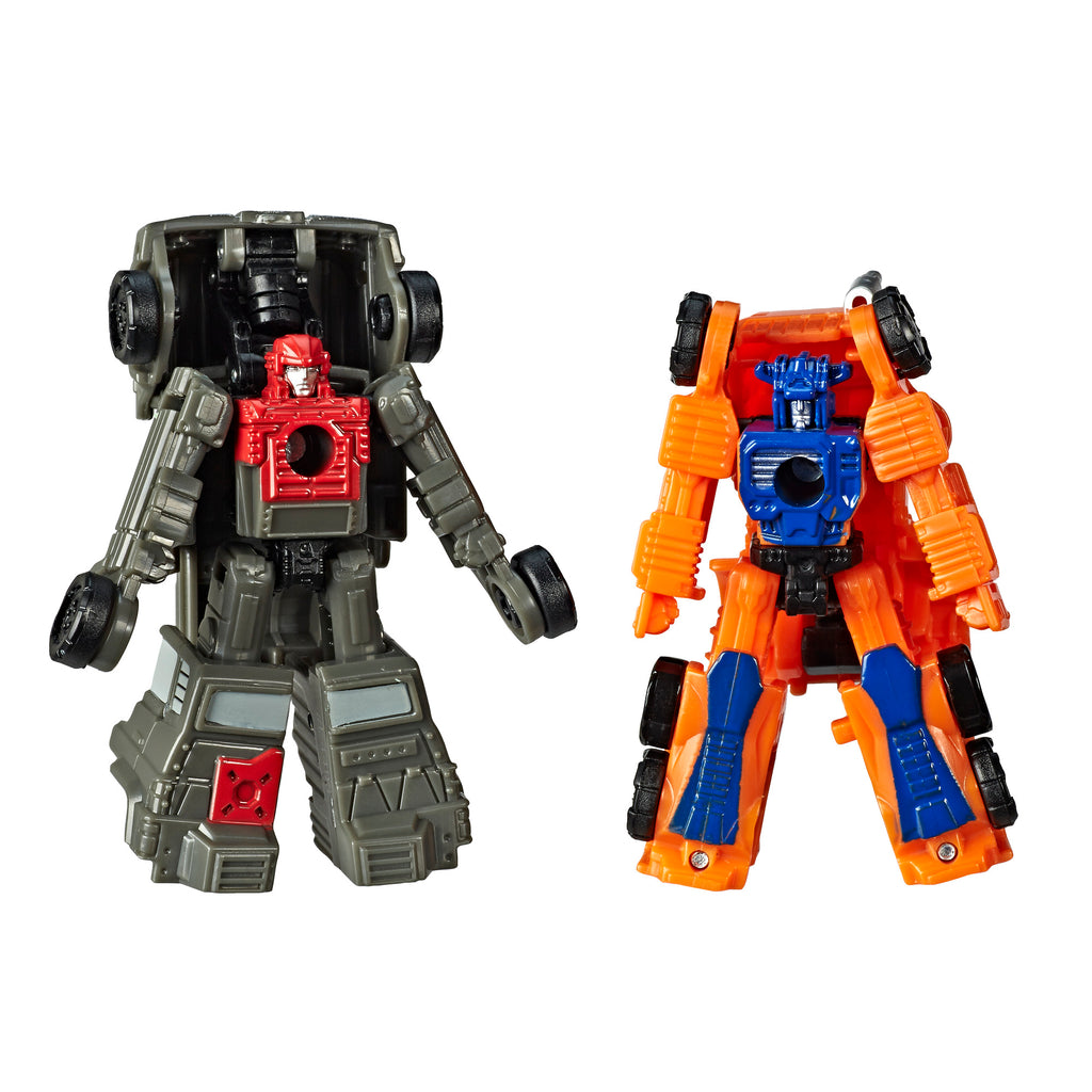 Transformers Generations War for Cybertron: Siege Micromaster WFC-S33 Autobot Off-Road Patrol 2-pack Robot Mode