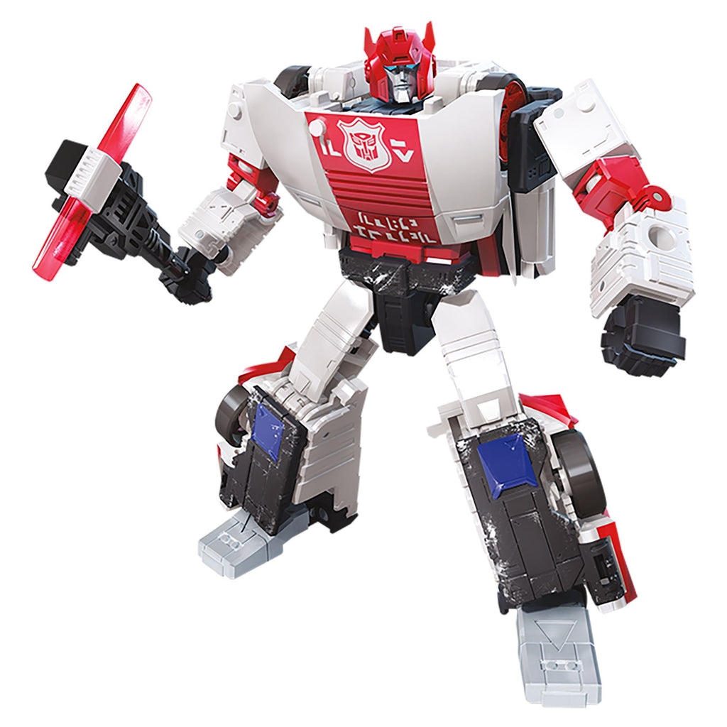 Transformers Generations War for Cybertron Deluxe WFC-S35 Red Alert Figure Bot Mode