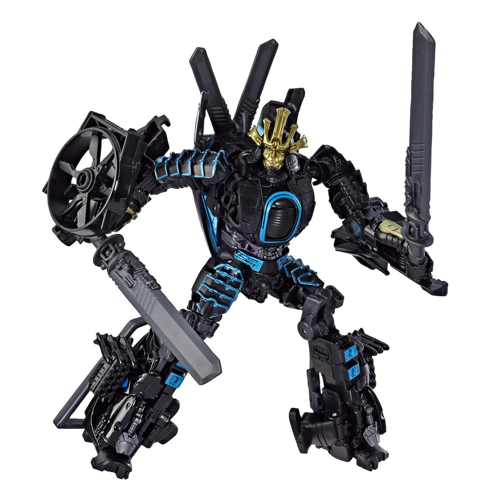 Transformers Studio Series 45 Deluxe Class: Age of Extinction Movie Autobot Drift Figure Robot Mode