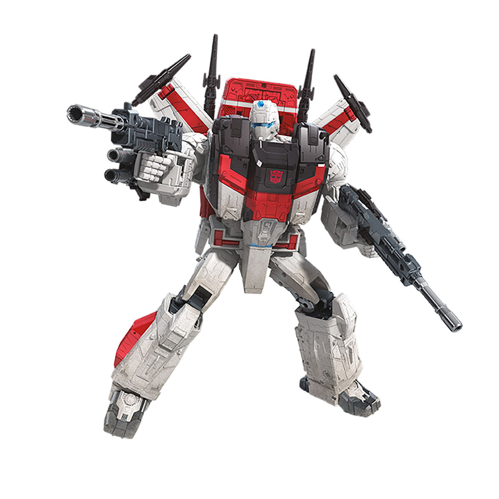 Transformers Generations War for Cybertron Commander WFC-S28 Jetfire Action Figure Bot Mode