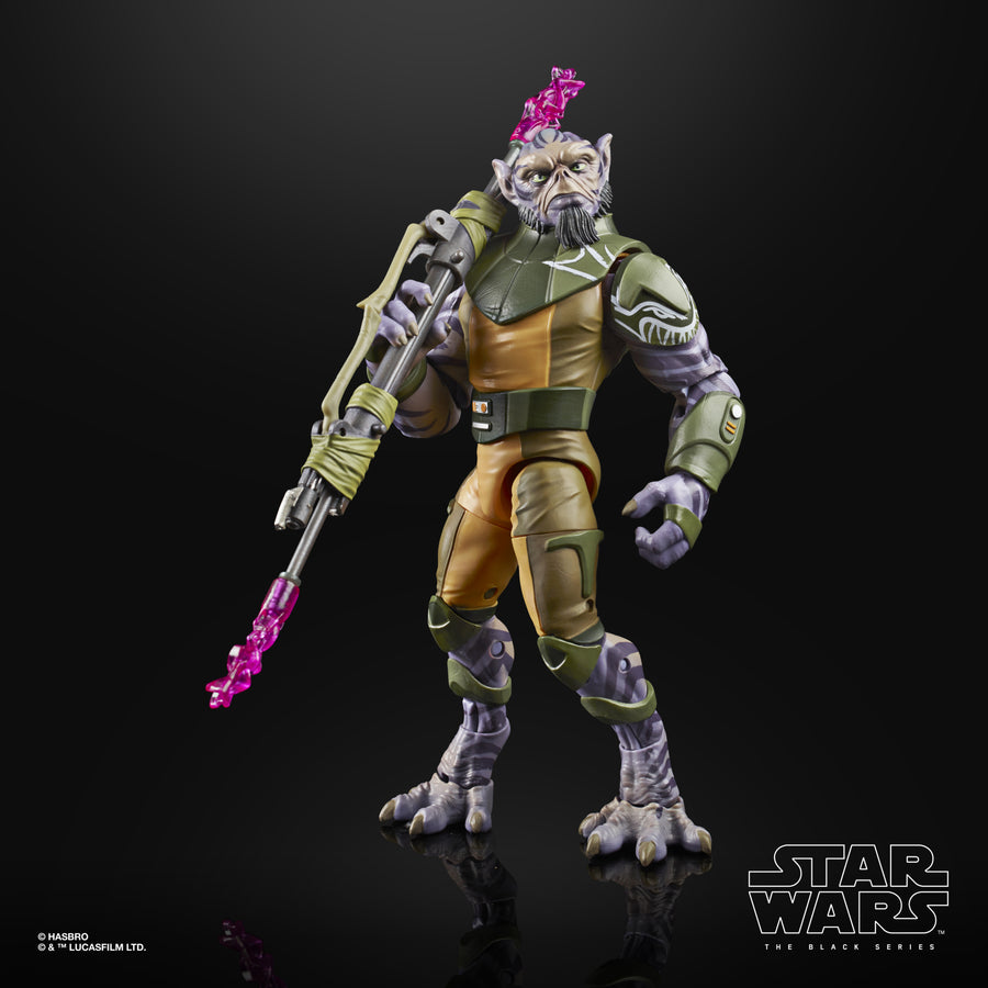 "Star Wars The Black Series Garazeb ""Zeb"" Orrelios Deluxe Figure"