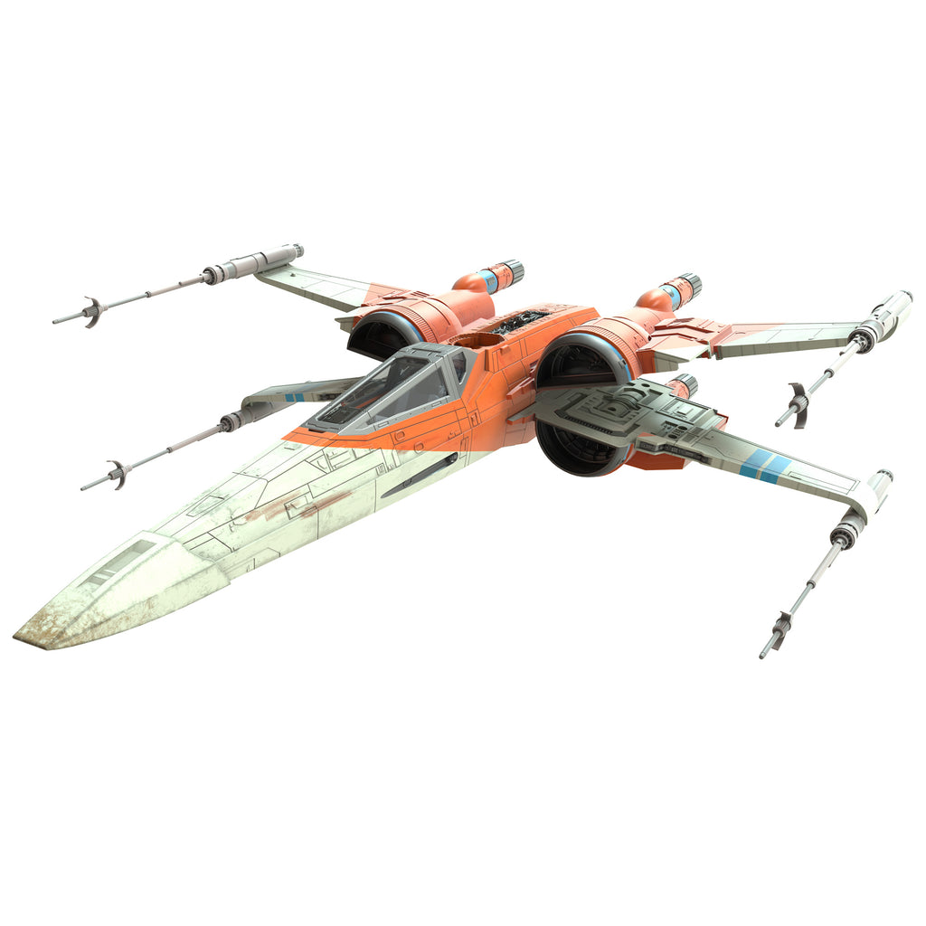 Star Wars The Vintage Collection Poe Dameron's X-Wing Fighter Vehicle