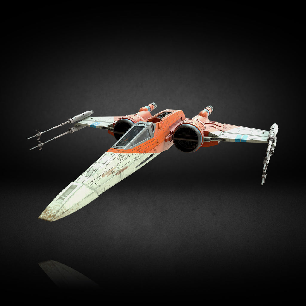 Star Wars The Vintage Collection Poe Dameron S X Wing Fighter Vehicle Hasbro Pulse
