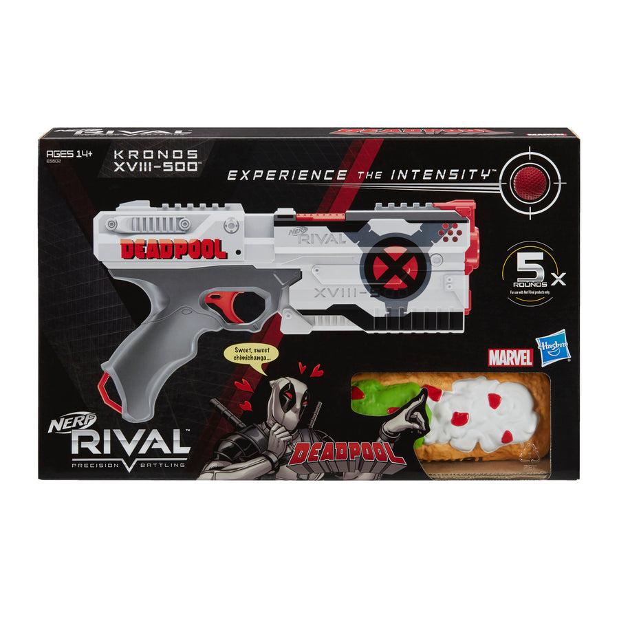 Nerf Rival Deadpool Kronos XVIII-500 Packaging