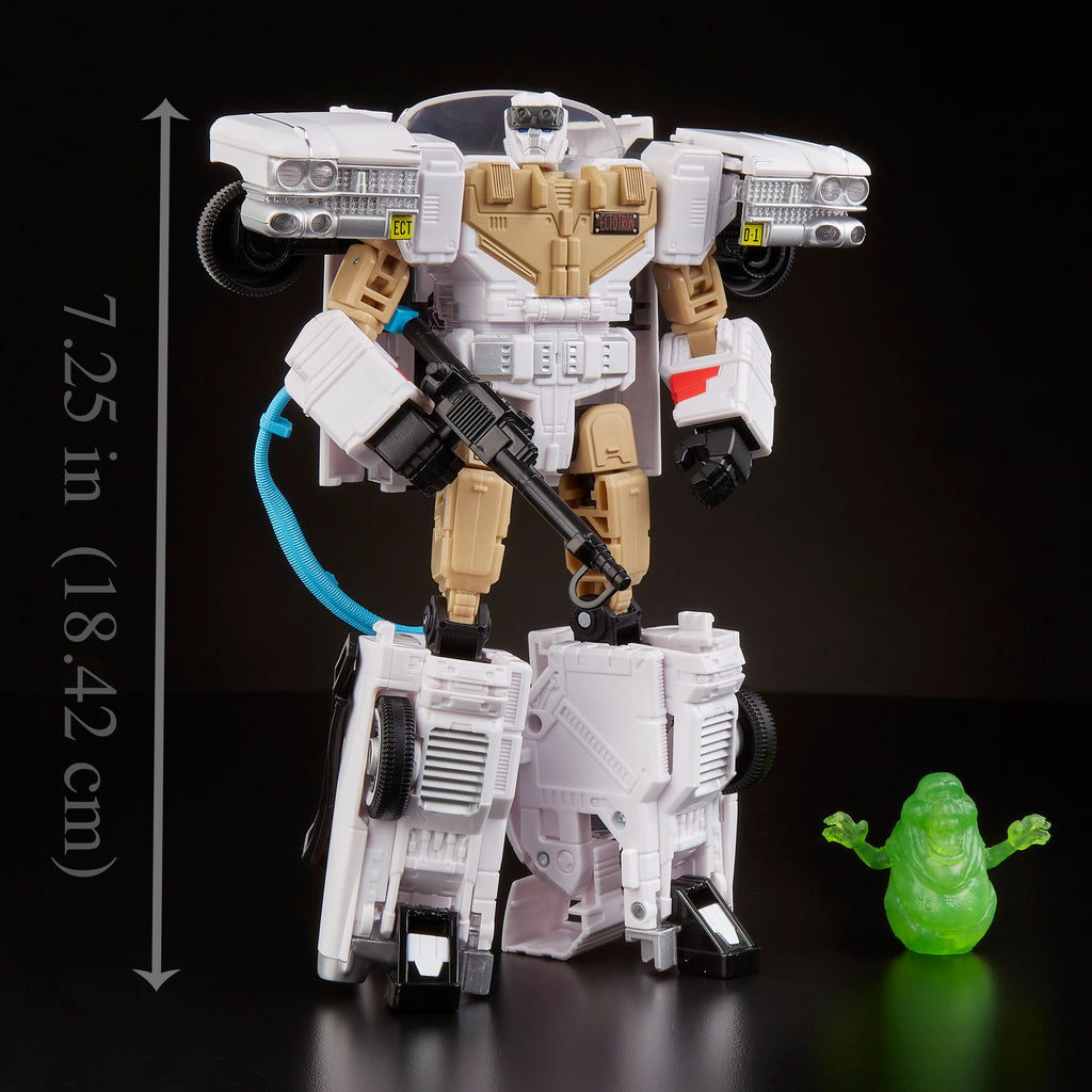 Transformers Ghostbusters Ecto-1 Ectotron  Fresh Case Pull!! Free Shipping!!!