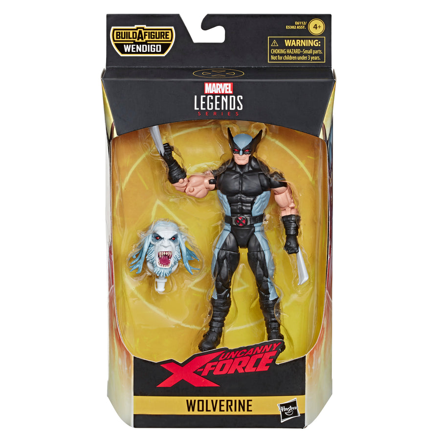 Marvel Legends Series Wolverine Figure Packaging