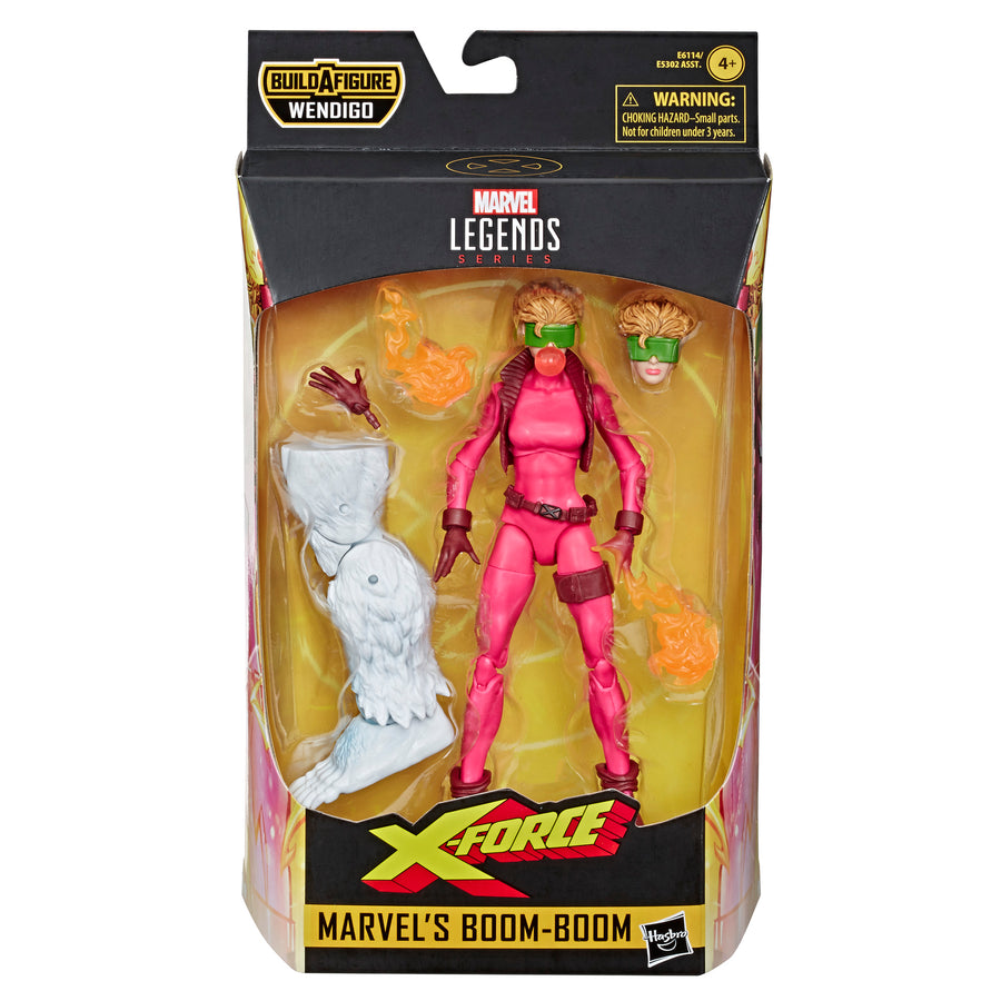 Marvel Legends Series Boom-Boom Figure Packaging