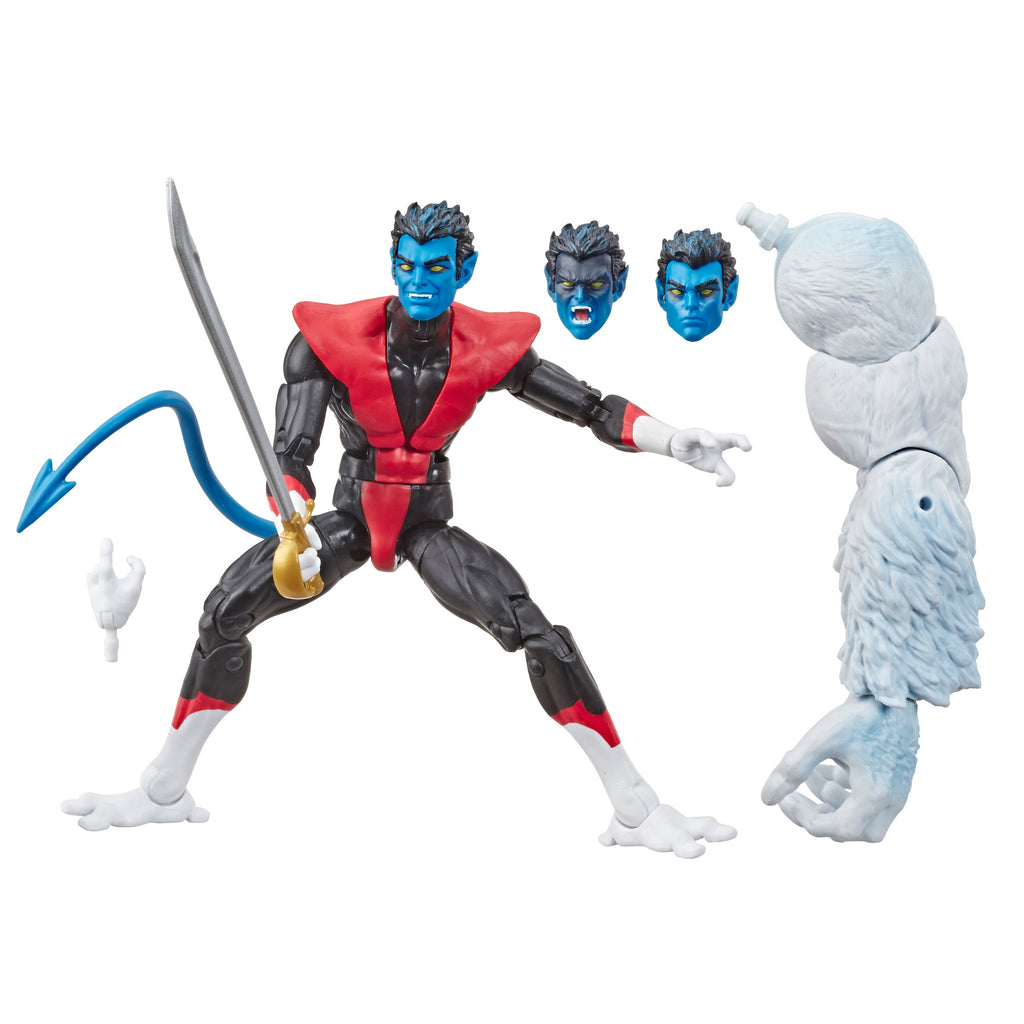 Marvel Legends Series Nightcrawler Figure and Accessories