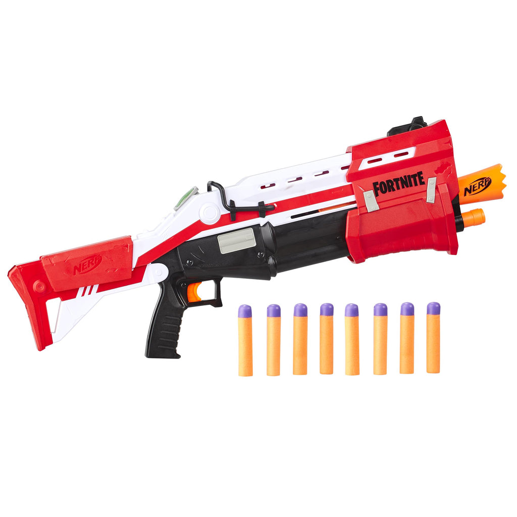 Nerf Fortnite TS Blaster and Rounds