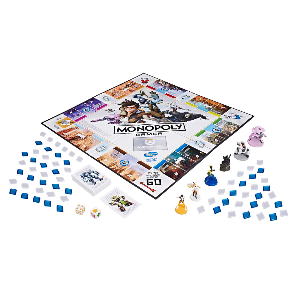 Monopoly Gamer Overwatch Collector's Edition Board Game Pieces