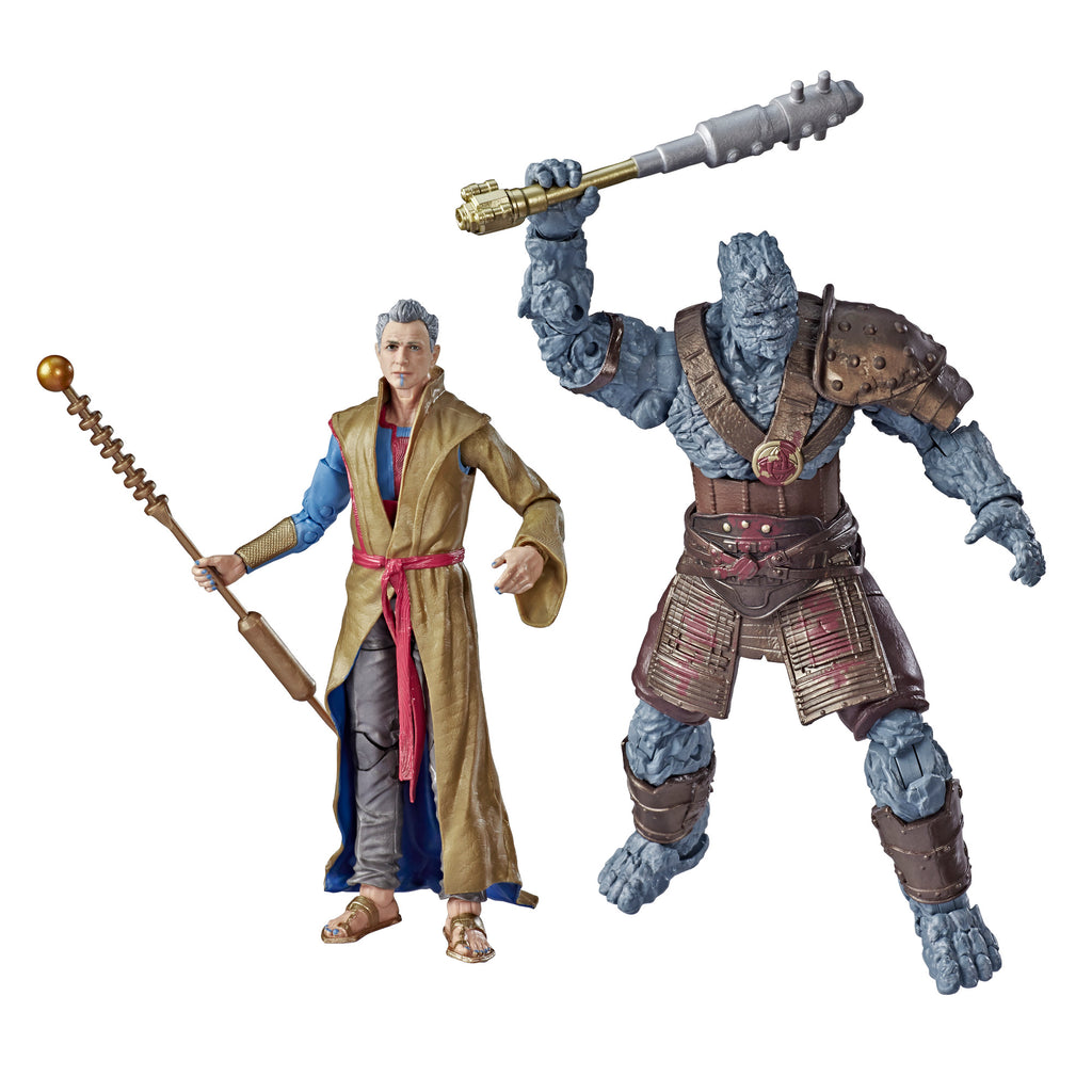 Marvel Legends Series Grandmaster And Korg Figures