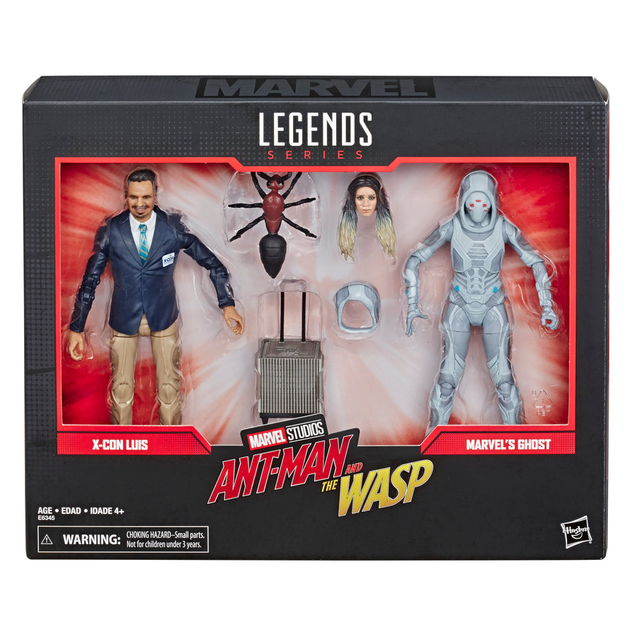 Marvel Legends Series X-Con Luis And Marvel's Ghost Packaging