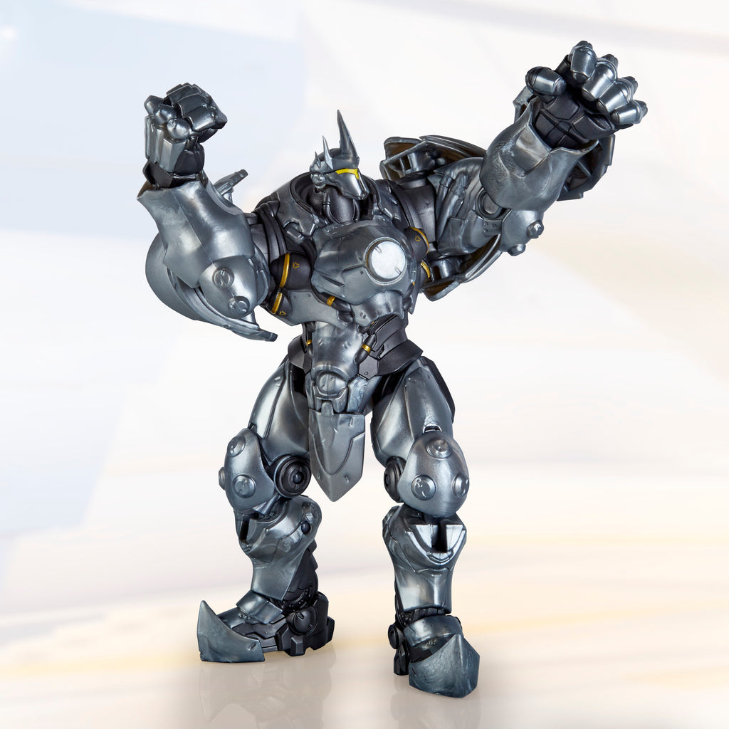 Overwatch Ultimates Series Reinhardt Figure Blizzard Video Game Character