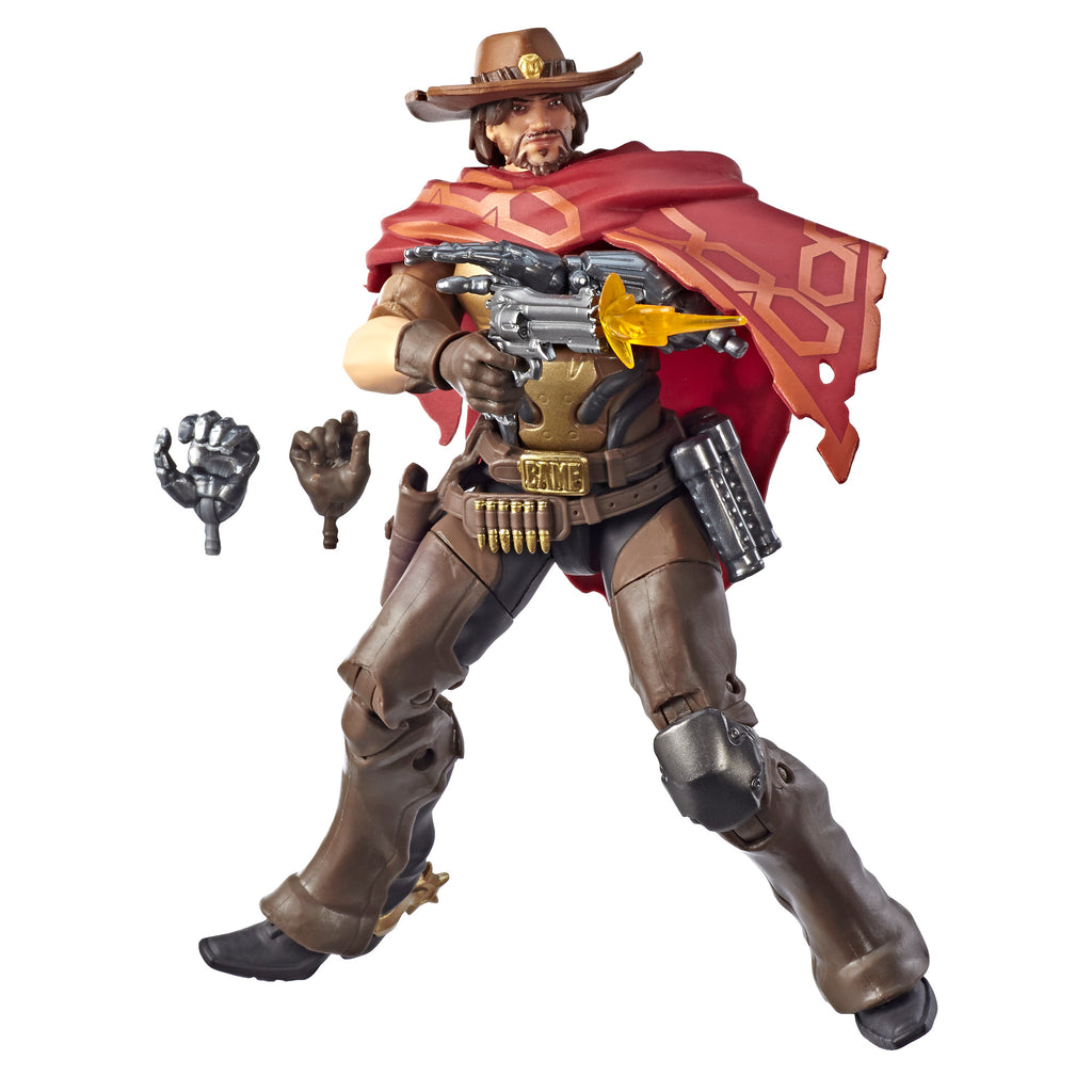 Overwatch Ultimates Series McCree Action Figure and Accessories