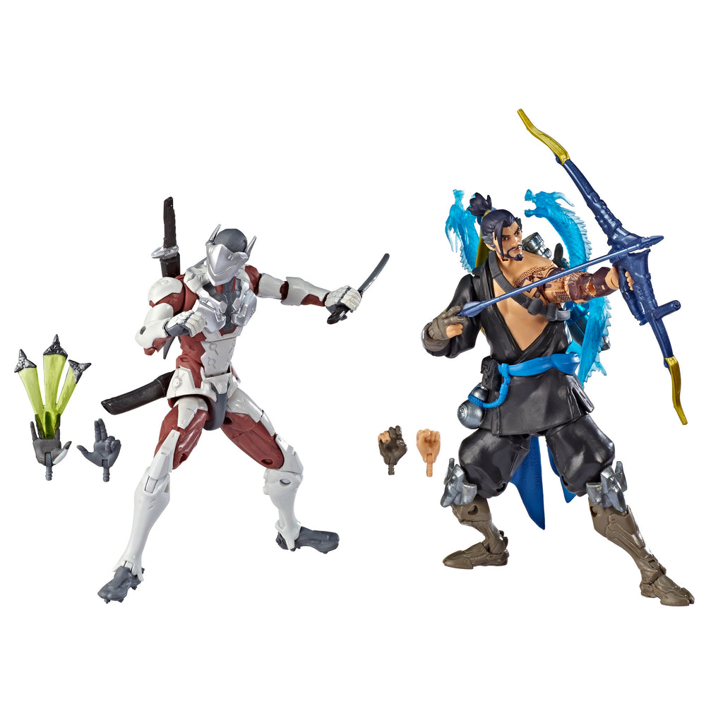 Overwatch Ultimates Series Hanzo and Genji Dual Pack Action Figures