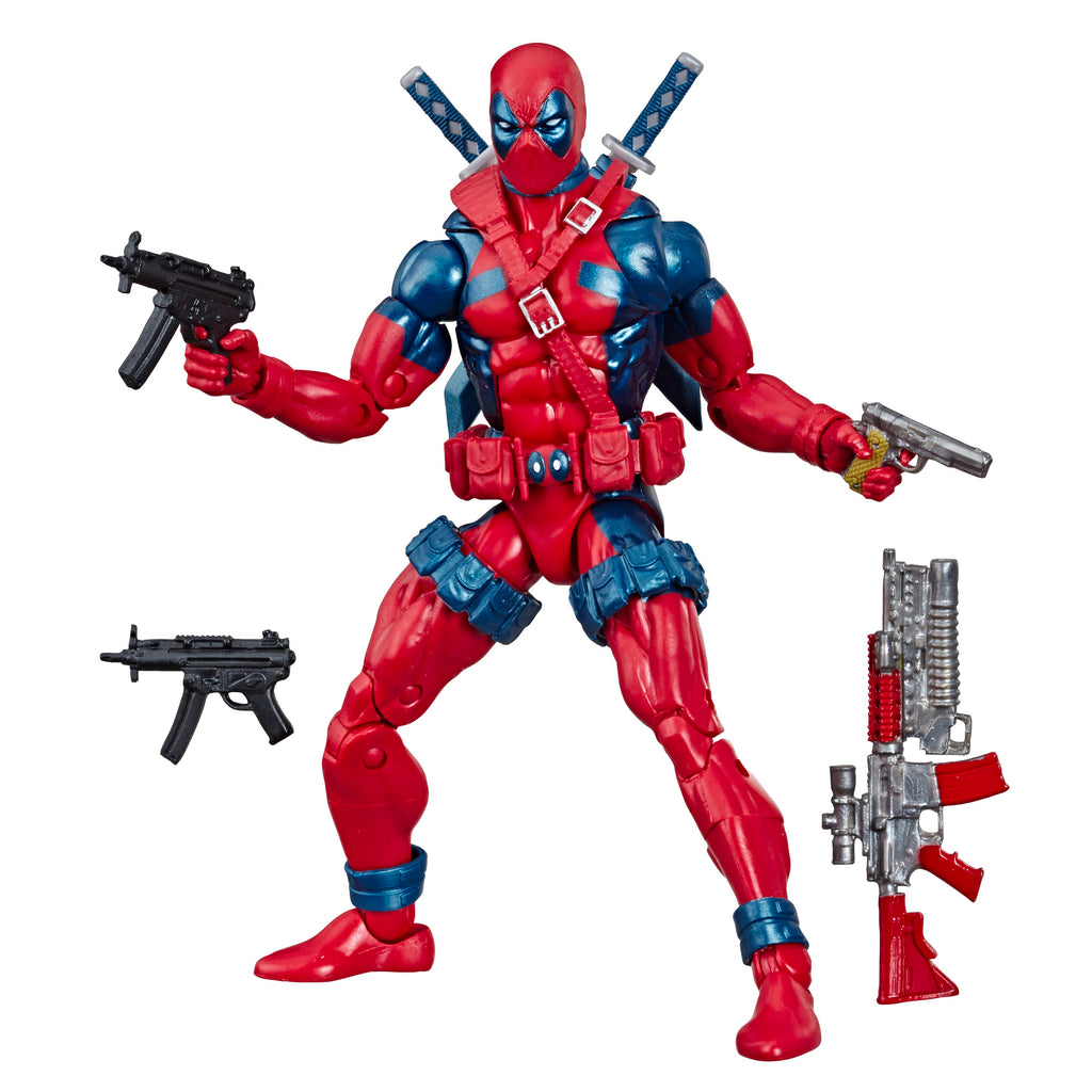 Marvel 80th Anniversary Legends Series Deadpool Figure With Accessories