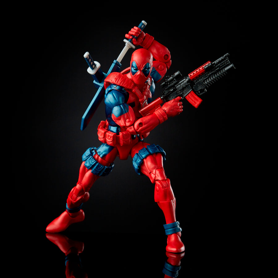Marvel 80th Anniversary Legends Series Deadpool Figure