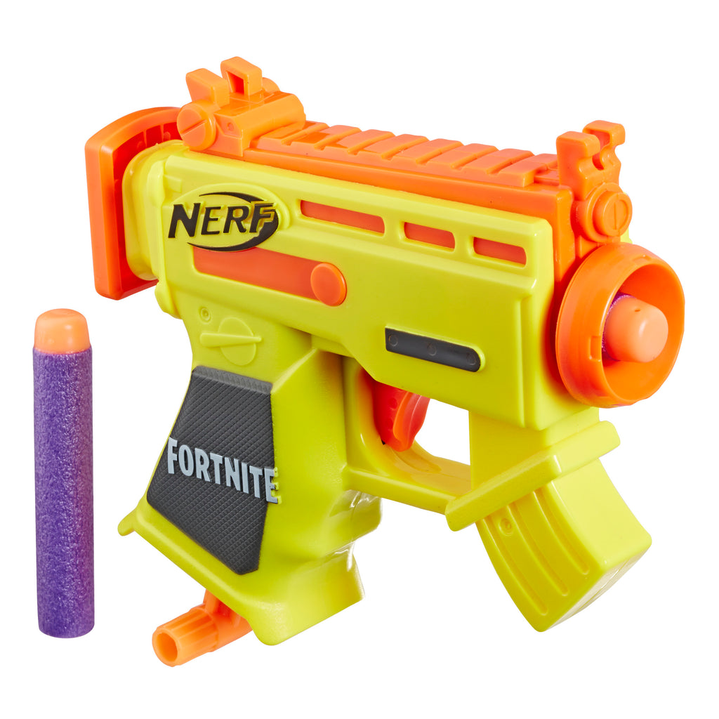 Nerf Fortnite Micro AR-L MicroShots Blaster with Darts