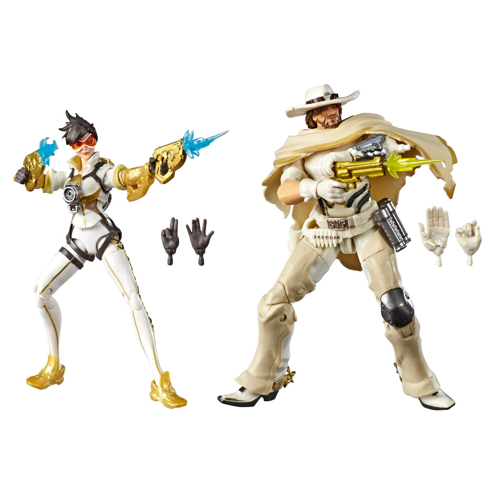 Overwatch Ultimates Series Tracer (Posh) and McCree (White Hat) With Accessories