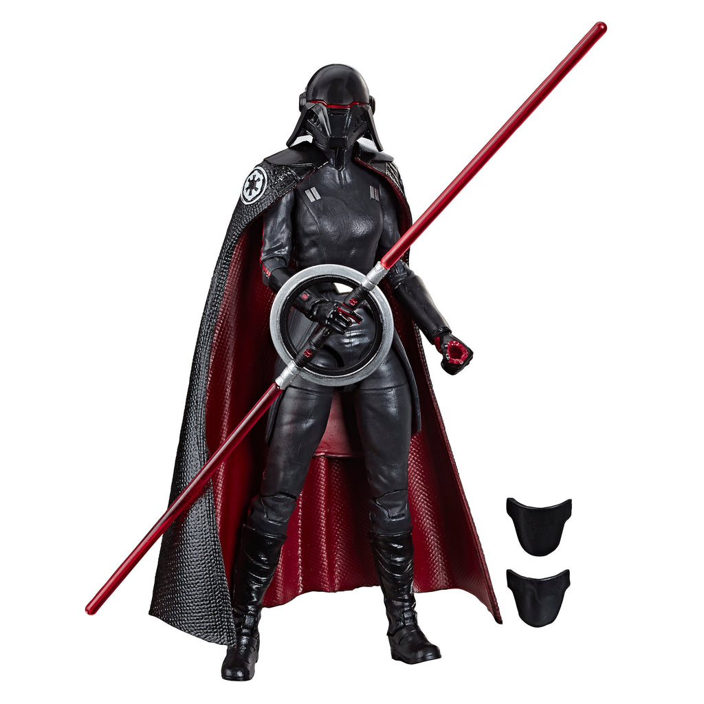 Star Wars The Black Collection Second Sister Inquisitor Figure and Accessories