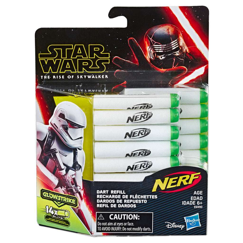 Star Wars Nerf Dart Refill Packaging