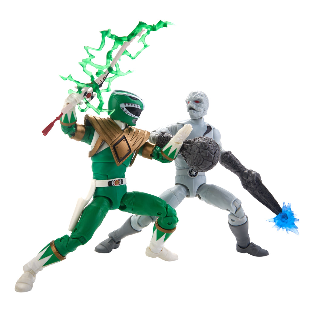 Power Rangers Lightning Collection Green Ranger and Putty 2-Pack Figures