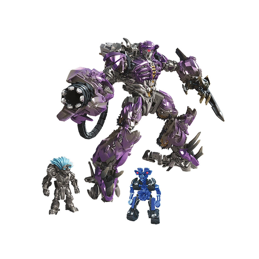 Transformers Studio Series 56 Leader Class Shockwave Robot Mode With Two Figure Accessories