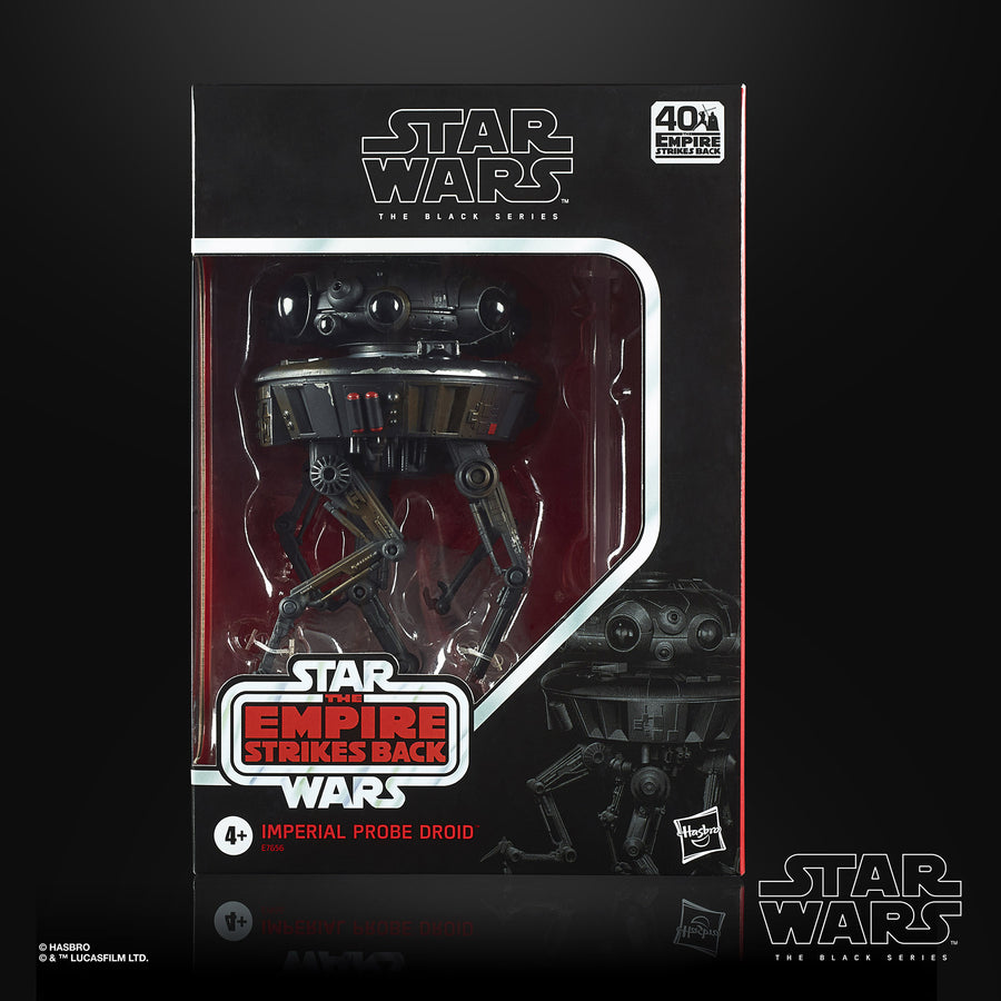Star Wars The Black Series Imperial Probe Droid Deluxe Action Figure Packaging