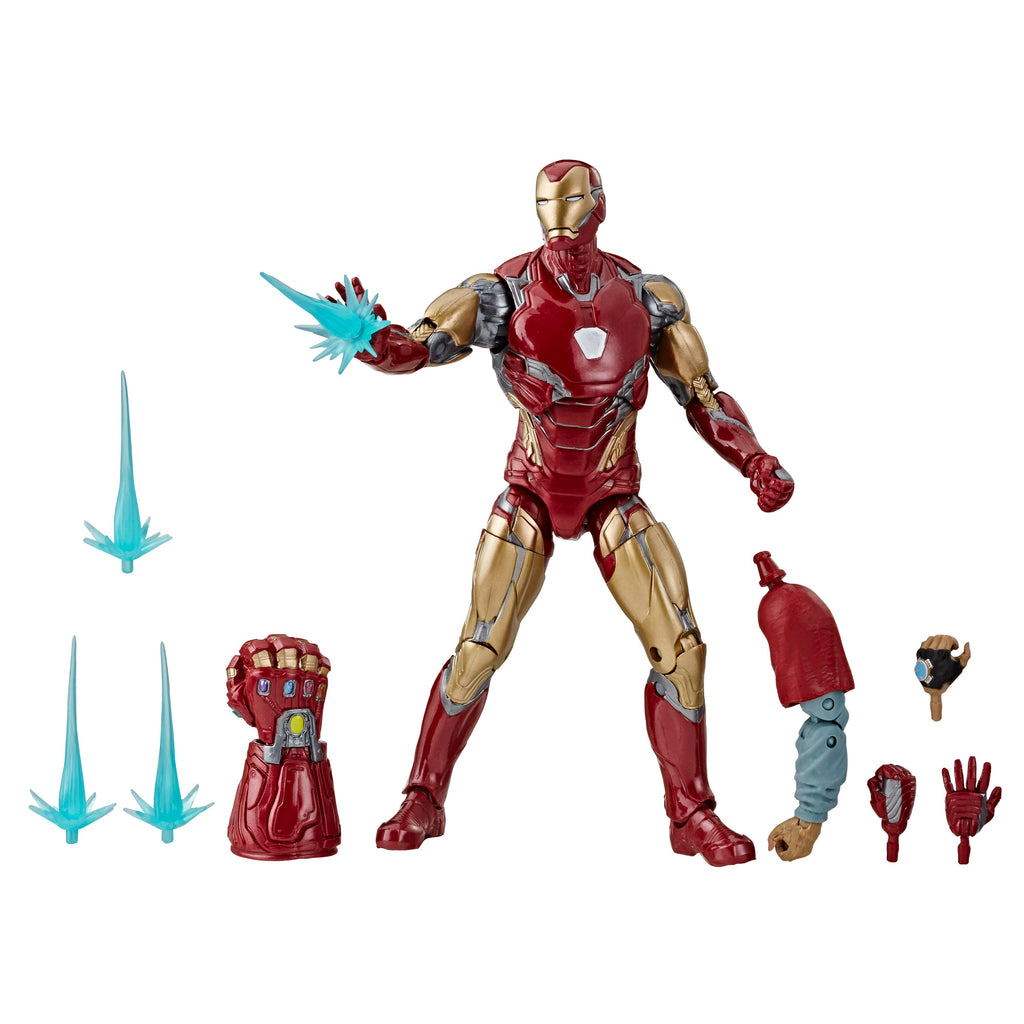 Marvel Legends Series Avengers: Endgame Iron Man Mark LXXXV Figure and Accessories