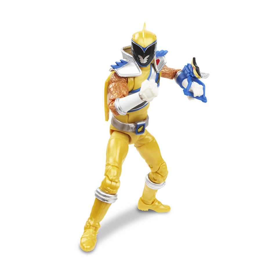 Power Rangers Lightning Collection Dino Charge Gold Ranger Figure