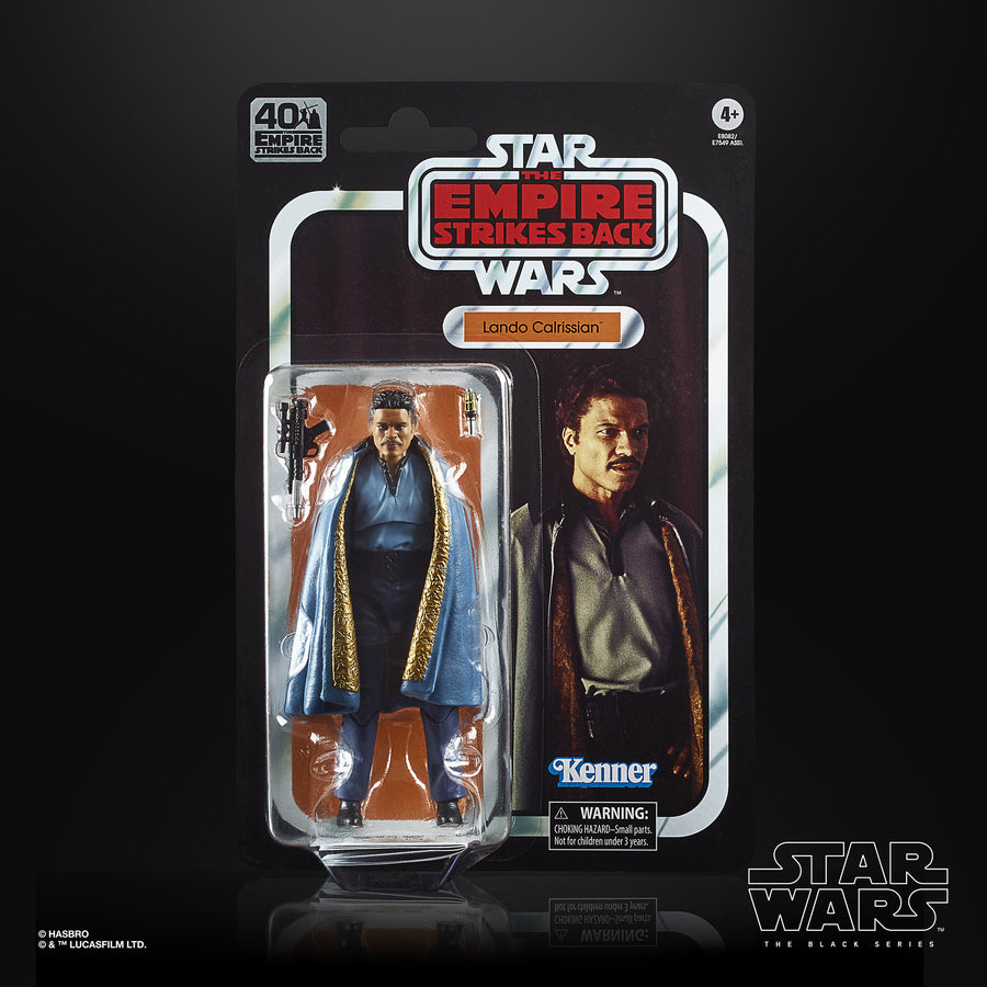 Star Wars The Black Series Lando Calrissian Figure Packaging