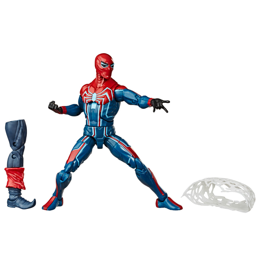 Marvel Legends Series Velocity Suit Spider-Man Figure