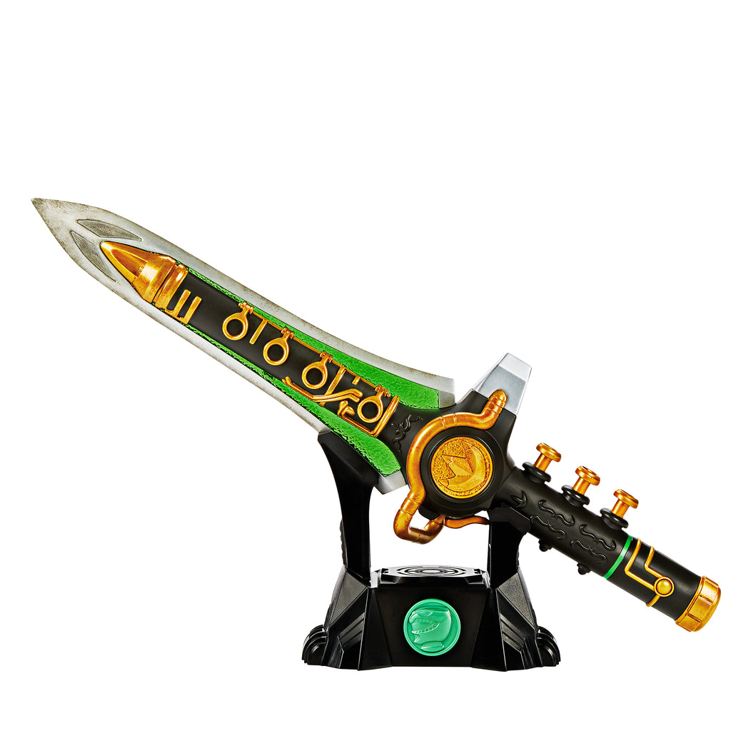 Power Rangers Lightning Collection Mighty Morphin Green Dragon Dagger