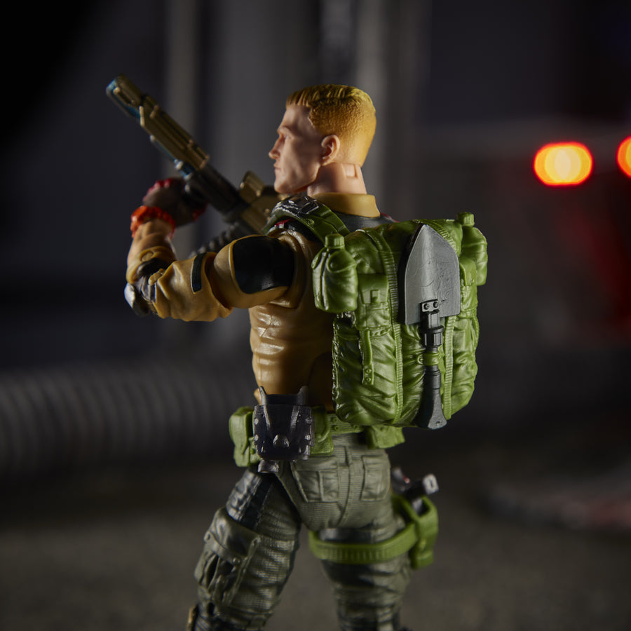 G.I. Joe Classified Series Duke Action Figure Diorama