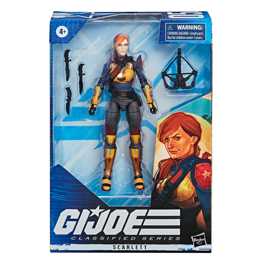 G.I. Joe Classified Series Scarlett Action Figure Packaging