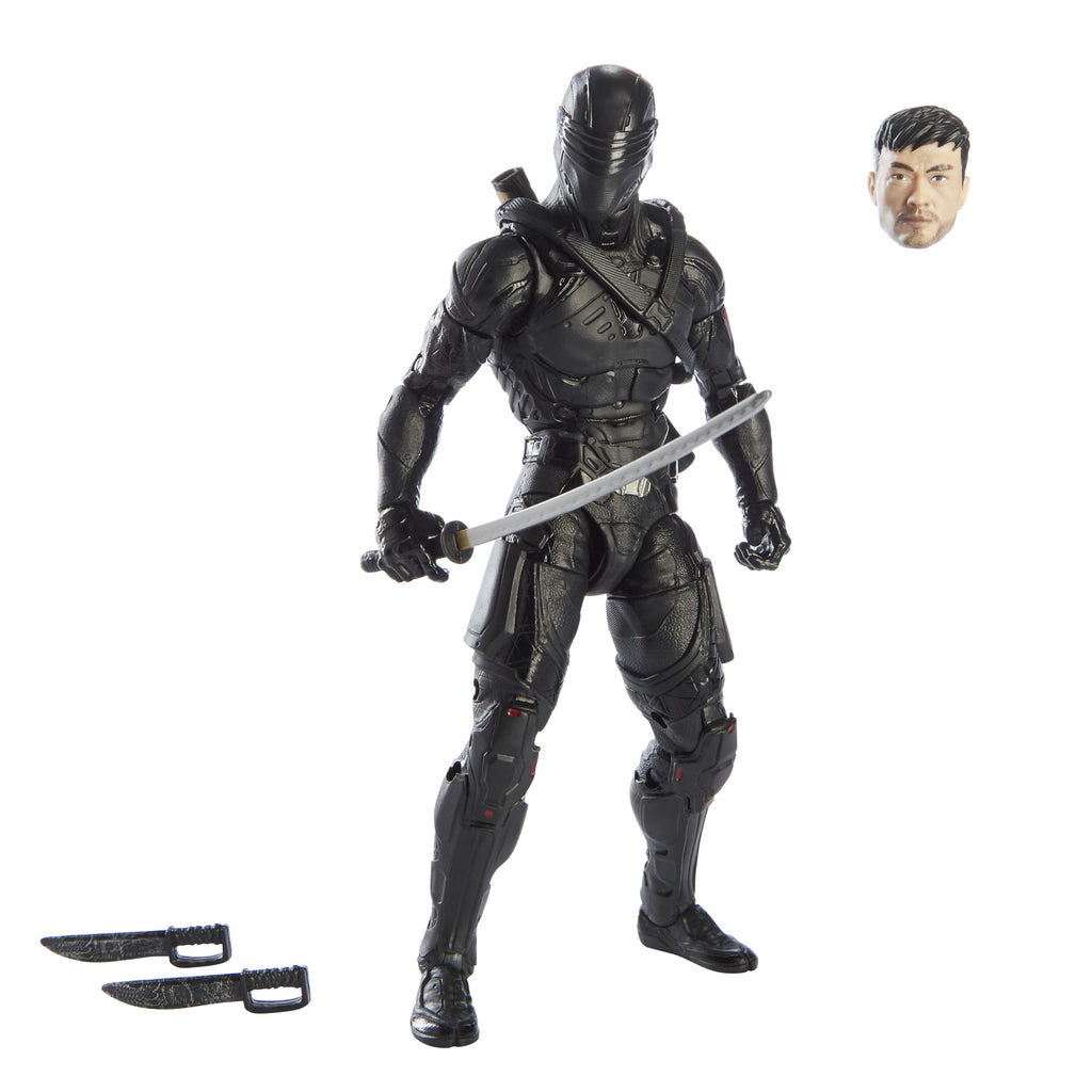 G.I. Joe Classified Series Snake Eyes: GI Joe origins Snake Eyes Figure