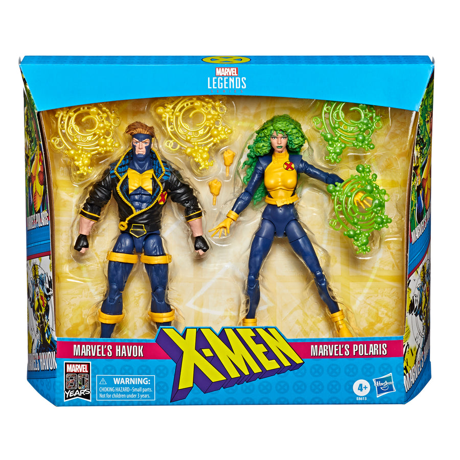 Marvel Legends Series X-Men 2-Pack Packaging