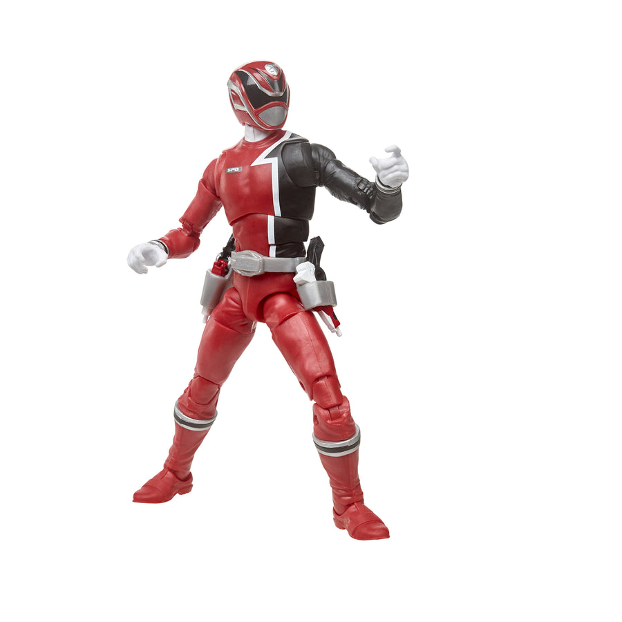 Power Rangers Lightning Collection S.P.D. Red Ranger Figure