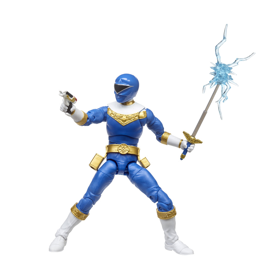 Power Rangers Lightning Collection Zeo Blue Ranger Figure