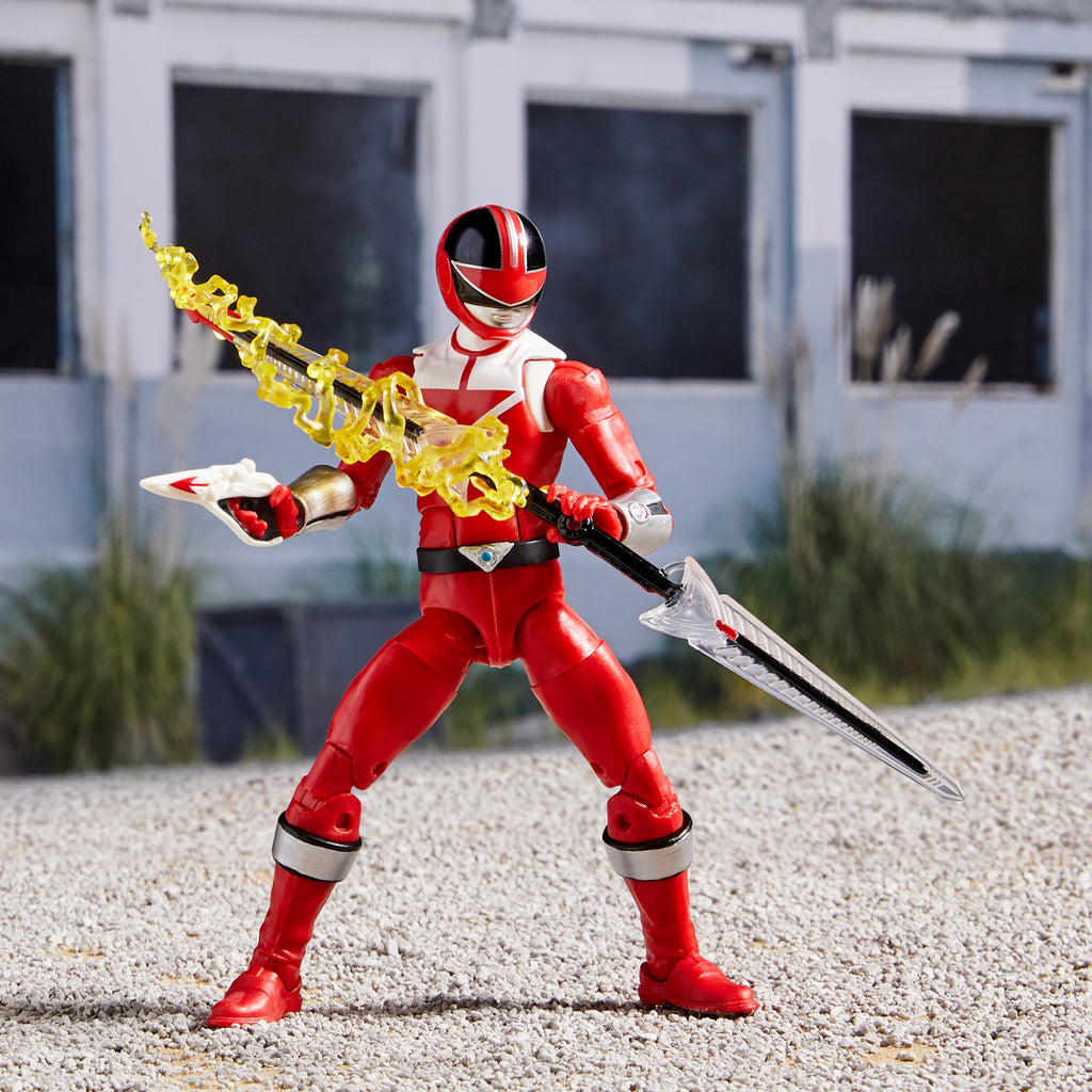 Power Rangers Lightning Collection Time Force Red Ranger Figure