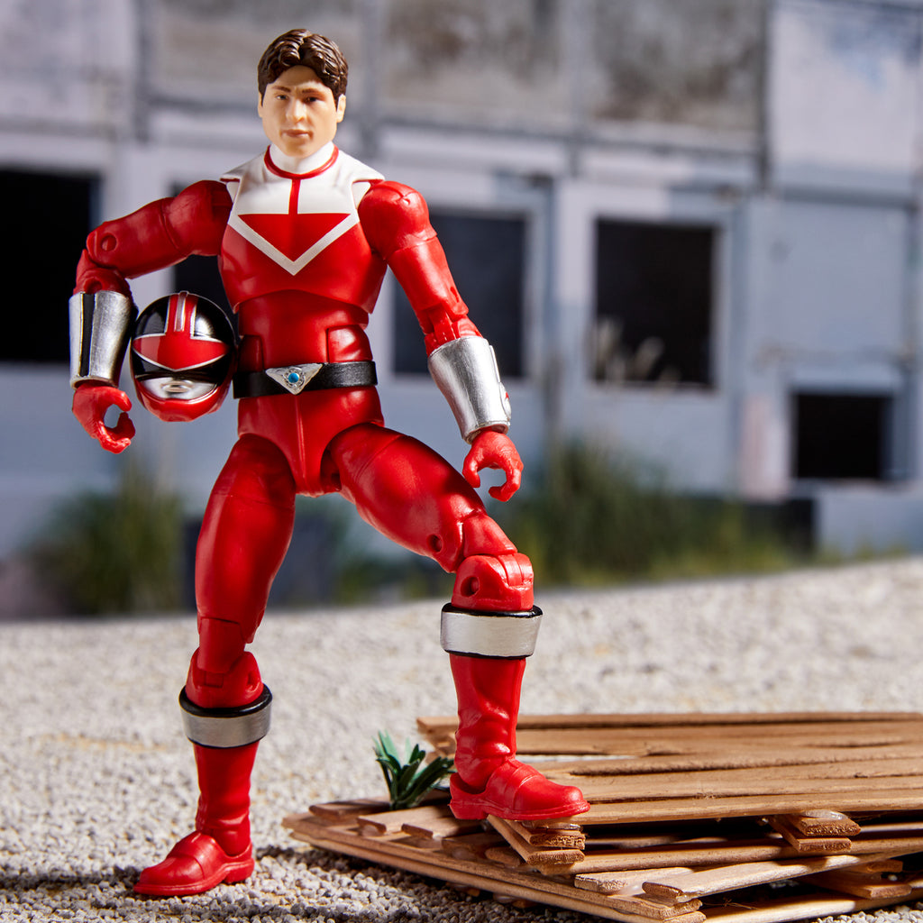 POWER RANGERS LIGHTNING COLLECTION TIME FORCE RED RANGER ACTION FIGURE