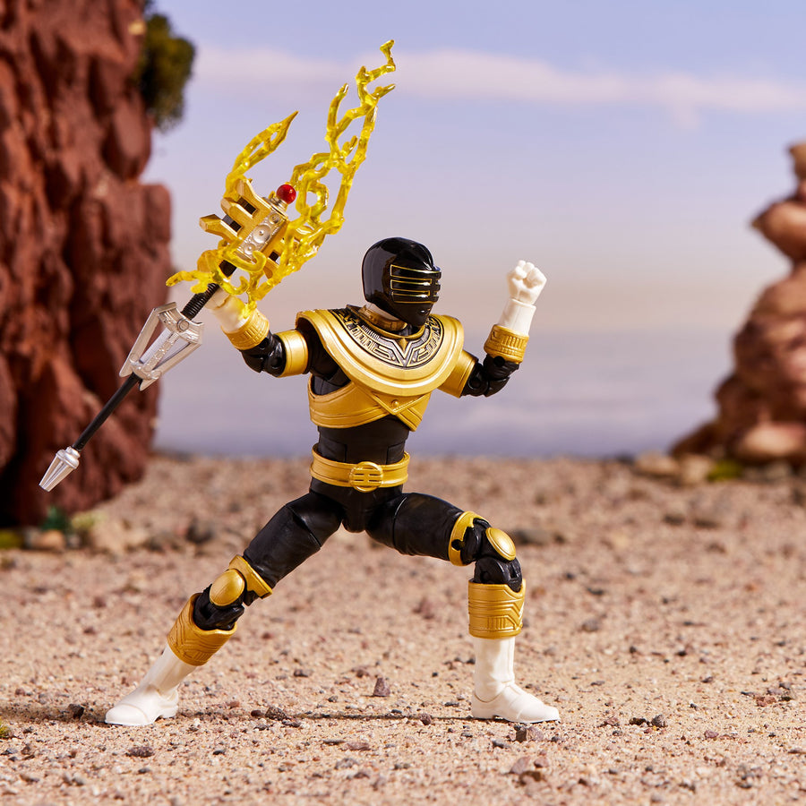 Power Rangers Lightning Collection Zeo Gold Ranger Figure