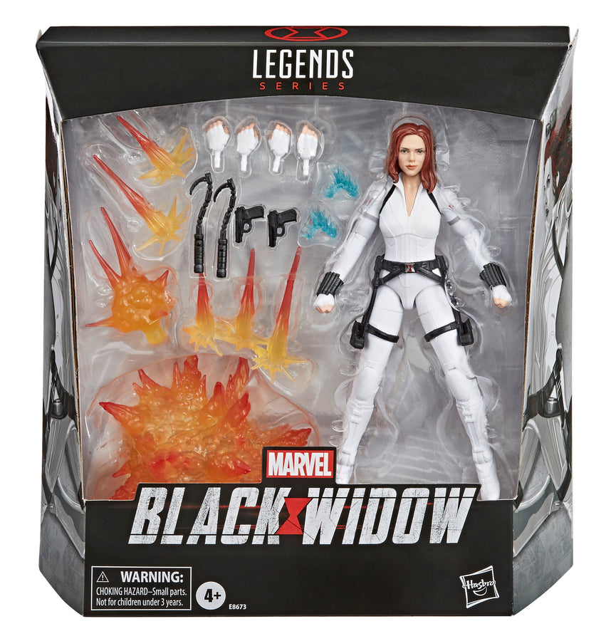 Marvel Black Widow Legends Series Black Widow