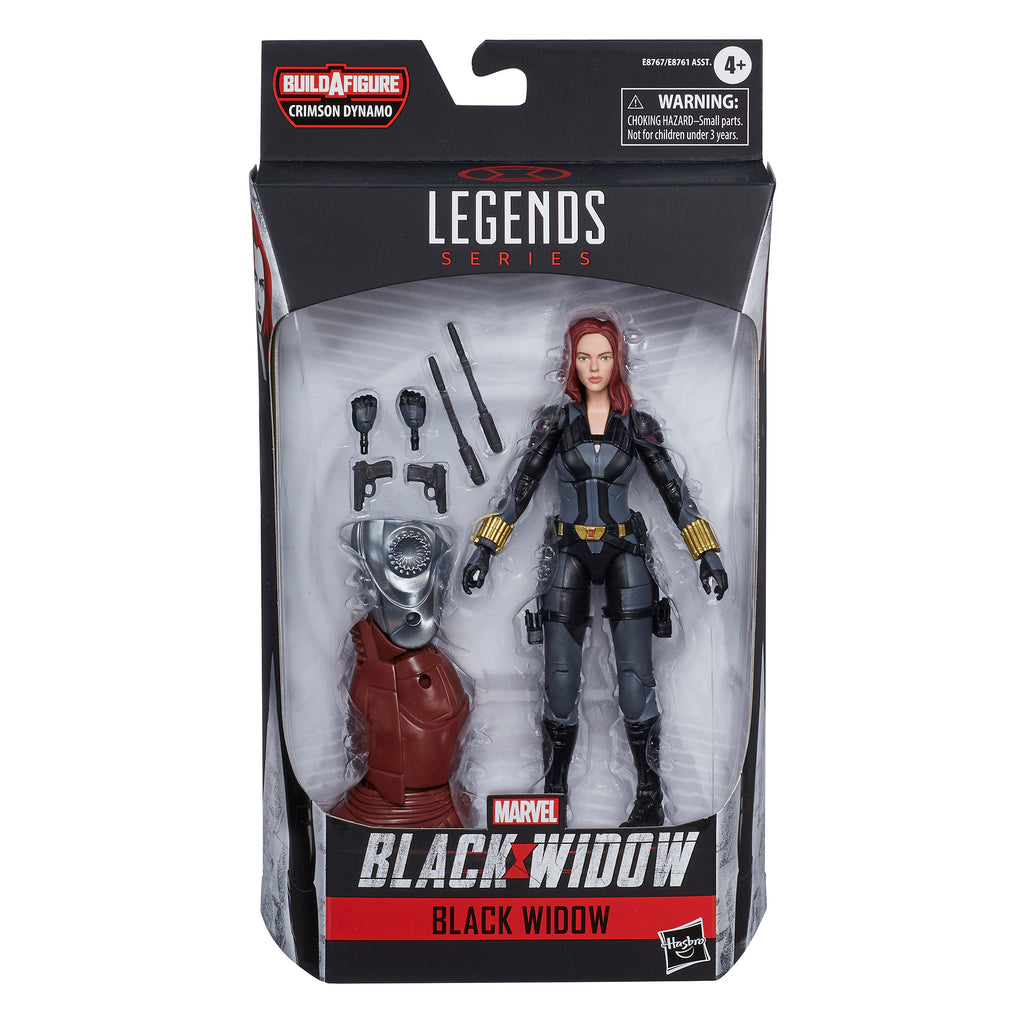 Marvel Black Widow Legends Series Black Widow Action Figure
