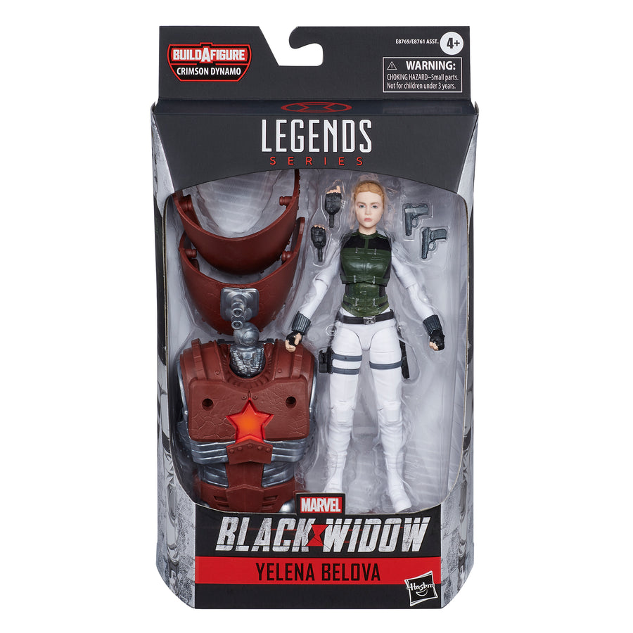 Marvel Black Widow Legends Series Yelena Belova