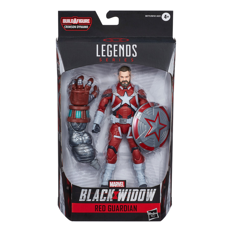 Marvel Black Widow Legends Series Red Guardian